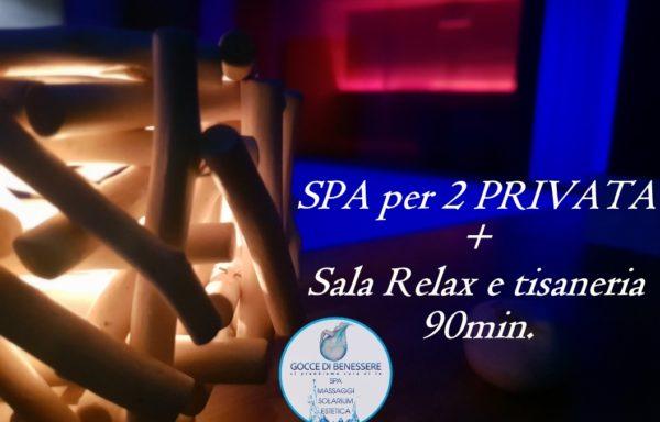 Spa per 2 PRIVATA + sala relax