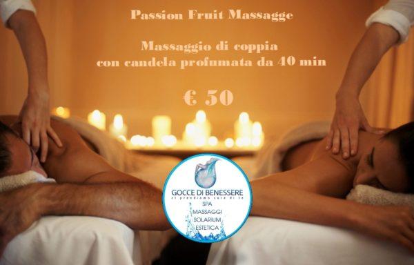 Massaggio di coppia anti-stress € 50